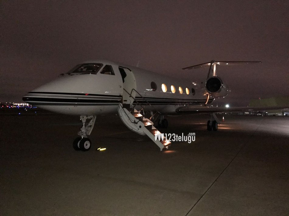 Ram Charan Jet Leaving To Sfo From Dallas