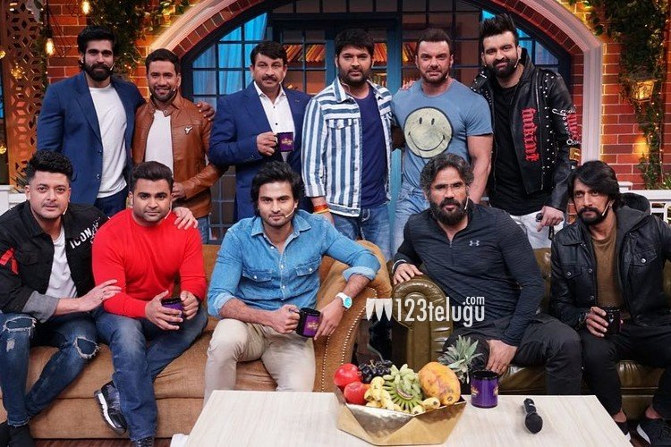 Sudheer Babu on the sets of Kapil Sharma Show