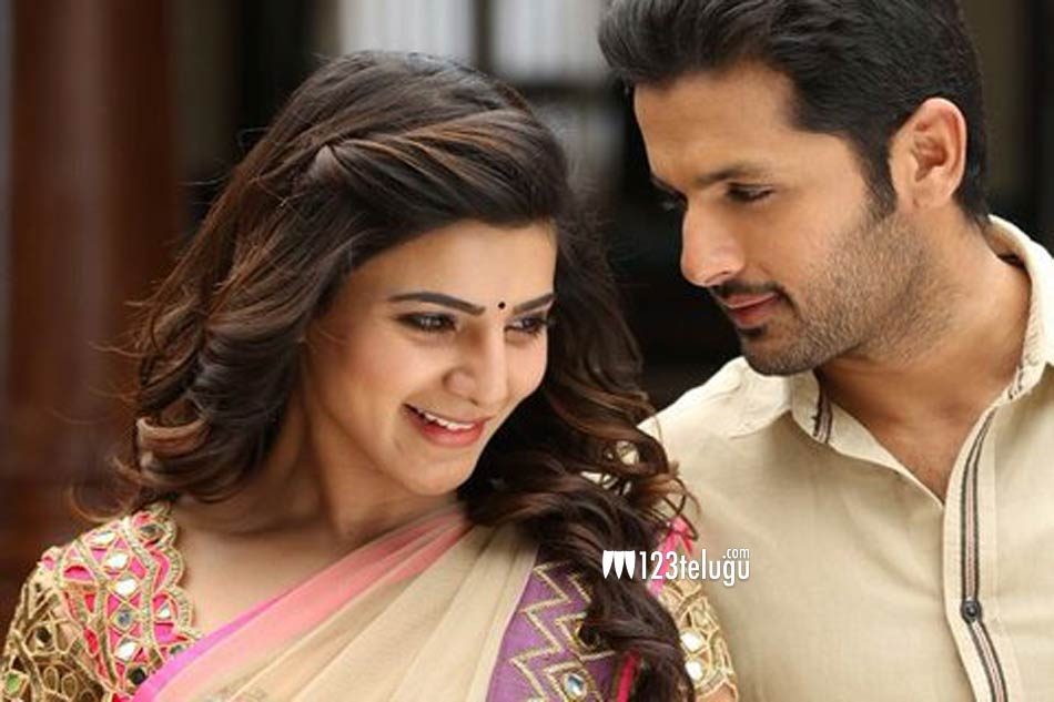 A.. aa..new stills   nithin, samantha
