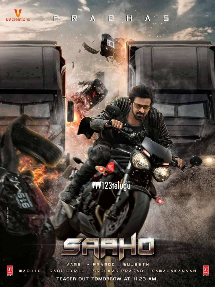 Image result for saaho new poster